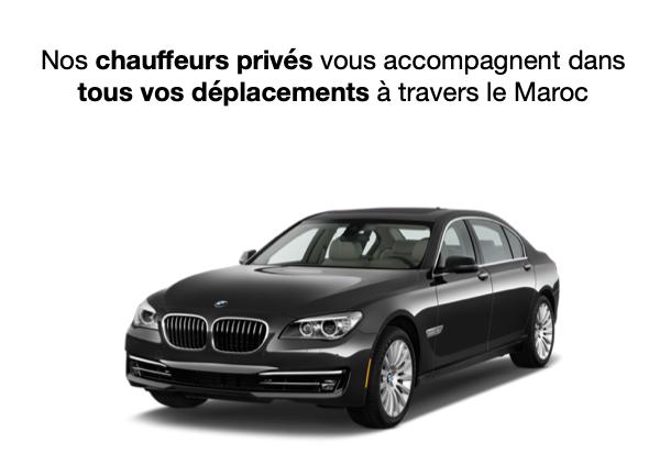 Chauffeur privé Maroc